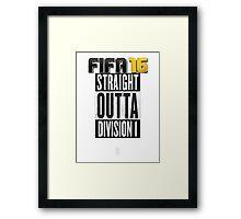 FIFA 16 - Division1 - EA Sports Framed Print