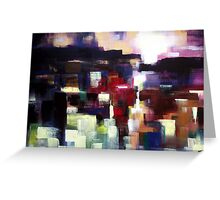 One moment in eternity,abstract nature landscape  Greeting Card