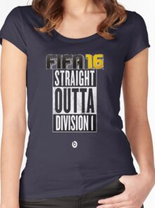 FIFA 16 - Division1 - EA Sports Women's Fitted Scoop T-Shirt