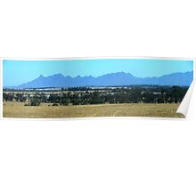 Eastern end of the Stirling Ranges Poster