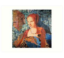 Genevieve Art Print