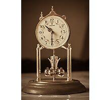 Vintage clock Photographic Print