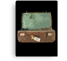Newt Scamander's Suitcase - FANTASTIC BEASTS AND WHERE TO FIND THEM Canvas Print