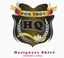 FoxTrot HQ Designers T-Shirt and Stickers. by nhk999