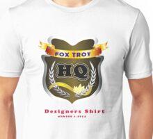 FoxTrot HQ Designers T-Shirt and Stickers. Unisex T-Shirt