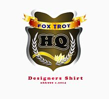 FoxTrot HQ Designers T-Shirt and Stickers. Unisex T-Shirt