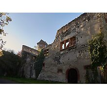 Burg Sponeck, Kaiserstuhl, Germany Photographic Print