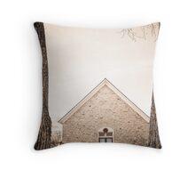Hygiene Church of the Brethren 1880 Throw Pillow