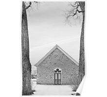 Hygiene Church of the Brethren 1880 in BW Poster
