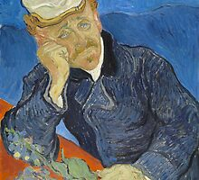 Vincent van Gogh - Dr Paul Gachet by TilenHrovatic