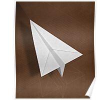 Paper Aeroplane Poster