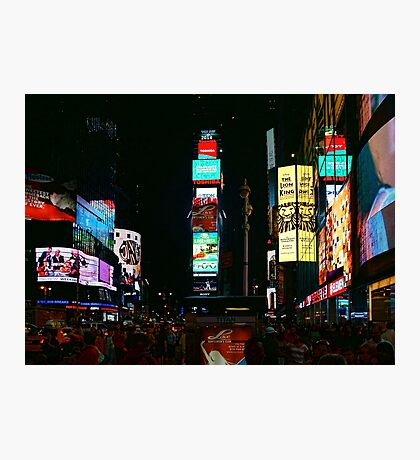 I Want to Wake Up in the City That Never Sleeps Photographic Print