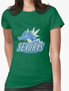 Cerulean City Seadras Womens Fitted T-Shirt