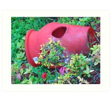 """Hawaii Flower Pot"" by Carter L. Shepard Art Print"