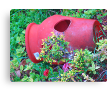 """Hawaii Flower Pot"" by Carter L. Shepard Canvas Print"
