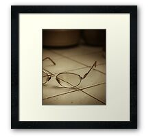 Reading spectacles Framed Print
