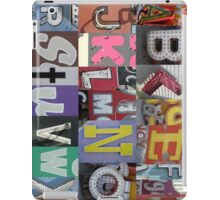 Las Vegas Sign Alphabet iPad Case/Skin