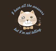 Not Telling Cat Unisex T-Shirt