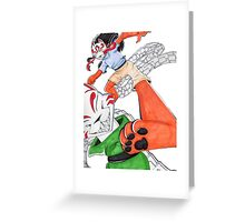 Dance Of the Puppet Eater Greeting Card