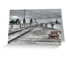 Port MacDonnell Pier Greeting Card