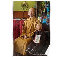 Guiness Record Vietnamese Monks Poster