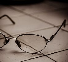 Vintage reading spectacles by Mudith Jayasekara
