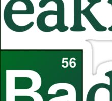 Breaking Bad Logo Sticker