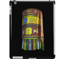 Buddhist Colorful Banner iPad Case/Skin