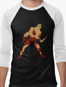 Move Like an Animal to Feel the Kill Men's Baseball ¾ T-Shirt