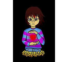 Frisk from Undertale Photographic Print