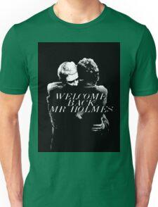 Welcome Back Mr. Holmes Unisex T-Shirt