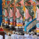 Cao Dai Temple, Vietnam by Geoffrey Higges
