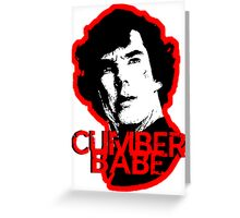 Cumberbabe Greeting Card