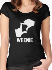 L7 Weenie! Women's Fitted Scoop T-Shirt