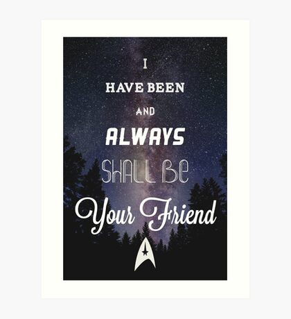 Star Trek Print Art Print