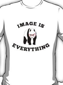 Panda in red glasses T-Shirt
