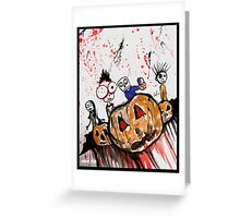 The Halloween Children Greeting Card