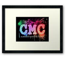Spray Paint CMC Framed Print