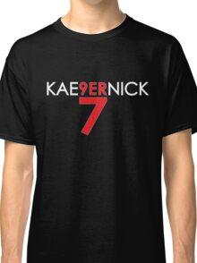 KAE9ERNICK 7 - QB #7 Colin Kaepernick of the San Francisco 49ers [DARK] Classic T-Shirt