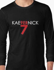 KAE9ERNICK 7 - QB #7 Colin Kaepernick of the San Francisco 49ers [DARK] Long Sleeve T-Shirt