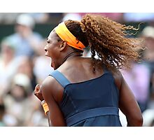 Serena Williams Photographic Print