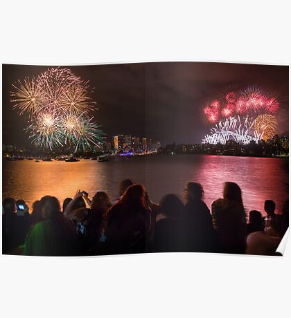 Sydney New Year's Eve Fireworks Poster