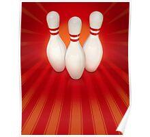 Ten Pin Bowling Poster