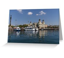 Postcard from Barcelona Greeting Card