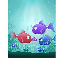 Under the Sea for Kids Photographic Print