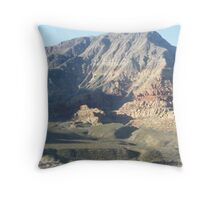 magestic mountain Throw Pillow