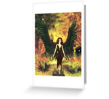 Myst Angel Greeting Card