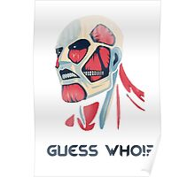 Guess who!? Poster