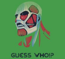 Guess who!? One Piece - Short Sleeve