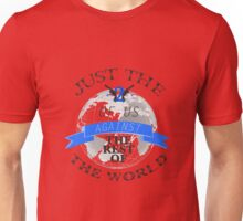 Two Of Us Against The Rest Of The World (Blue) Unisex T-Shirt